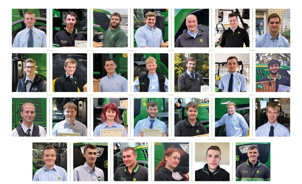 27 young service technicians have formally graduated from the John Deere Ag Tech, Parts Tech and Turf Tech advanced apprenticeship programmes