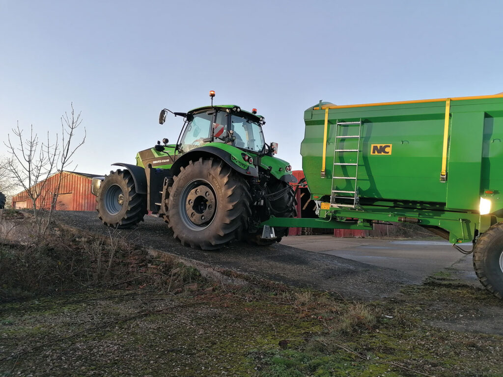 The PowerZero function holds the tractor in place with no input from the operator. This will be particularly useful at busy junctions.