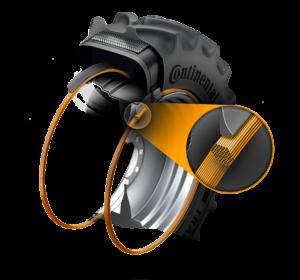 Combine tyre-bead-technology-hexabead