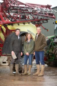 L_R Sam Hugill, Jane & Nick Wilson