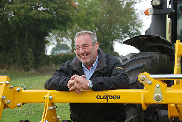 Jeff Claydon, CEO, Claydon Yield-o-Meter Limited