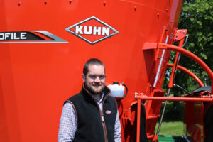 Tom Hume, technical personnel investment for KUHN