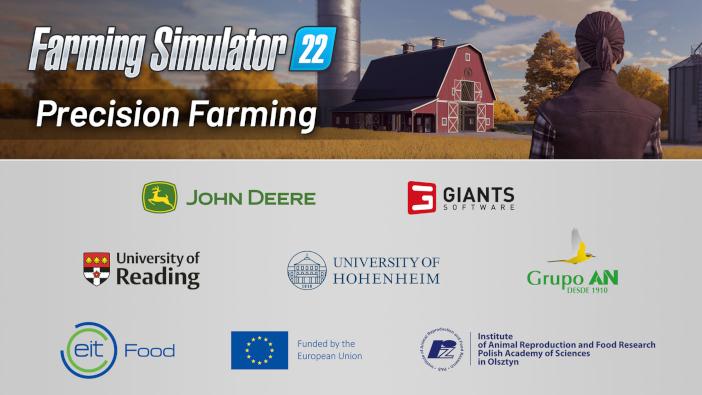 Farming Simulator 22 C_Precision Farming logos