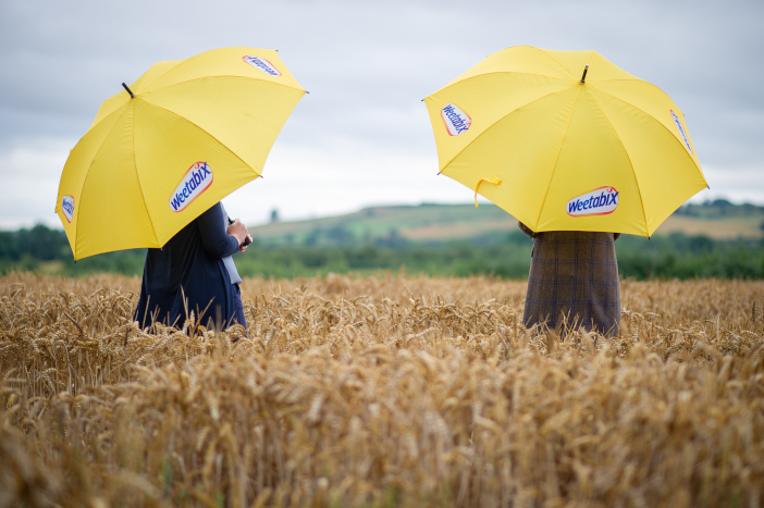 Despite this summer's temperamental weather conditions, Weetabix is celebrating a successful harvest thanks to the hard work of the farmers in its Growers Group - 2