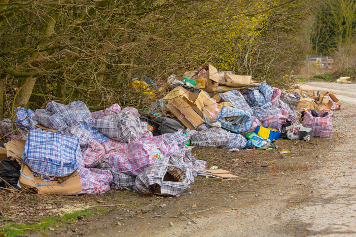 Yorkshire,,England,,20.03.21.,Fly,Tipping,Down,A,Quiet,Country,Lane.