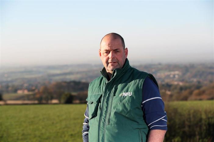 NFU dairy board chairman Michael Oakes